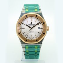 Audemars Piguet Royal Oak 41mm Steel & Rose Gold 15400SR.O...