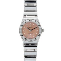 Omega Constellation My Choice Mini Stainless Steel Pink Dial...