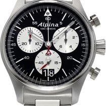 Alpina Geneve Startimer Pilot AL-372BS4S6B Herrenchronograph...