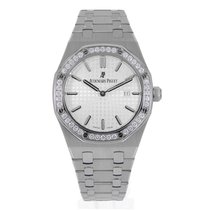 Audemars Piguet Ladies AP Royal Oak 33mm Steel Diamond Dial