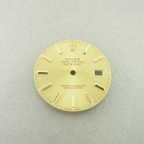 Rolex Datejust 36 Mm Zifferblatt Gold Stick Dial Ref. 16013...