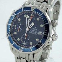 Omega Seamaster Chronograph Diver Herrenuhr Stahl Mit Box Und...