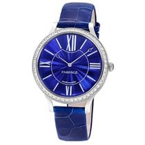 Fabergé White Gold Flirt 39mm - Blue Dial