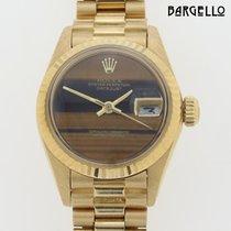 Rolex Datejust Lady Tiger Eye Stone Dial