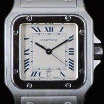 Cartier Santos Galbée 1564 Steel Quartz