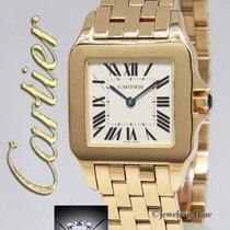 Cartier Santos Demoiselle 18k Yellow Gold Ladies Quartz Watch...