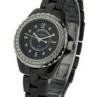 Chanel J12 Black 29mm Size H2571