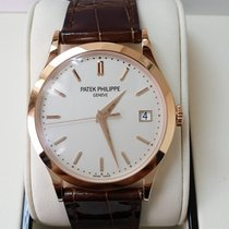Patek Philippe 5296R Men Calatrava 18K Rose Gold  Automatic...