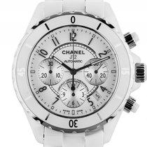 Chanel J12 Keramik White Automatik Chronograph Armband Keramik...