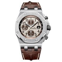 Audemars Piguet Royal Oak Offshore Brown Chronograph Watch