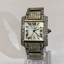Cartier 230 Tank Francaise 18kt Yellow Gold and Steel  Watch