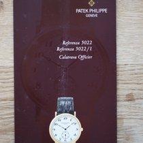 Patek Philippe Manual ( Anleitung ) ref. 5022 and 5022/1 in...