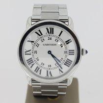 Cartier Solo Steel (BOX) 36mm WhiteRoman Dial3603