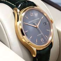 Baume & Mercier Clifton 18k Rose Gold M0a10059 39mm Auto...