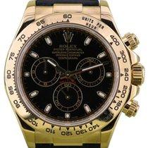 Rolex Cosmograph Daytona 116518 116518-BLKSBK Black Index 18k...