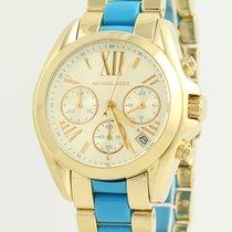 Michael Kors NEW Michael Kors Mini Bradshaw Wristwatch - Gold...