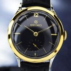 Seiko Sub Second Dial Manual Wind Gold Pated & Ss Watch #...