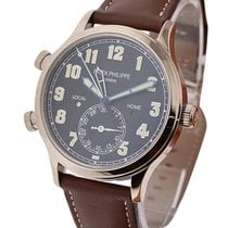 Patek Philippe 5524G-001 Calatrava Pilots Travel Time 5524G in...