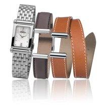 Michel Herbelin Antares Coffret bracelets acier, cuir intercha...
