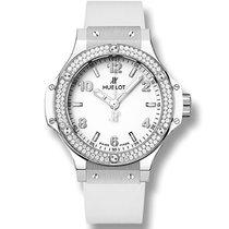 Hublot Big Bang Big Bang Steel White Diamonds 38 mm