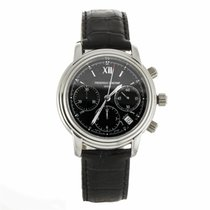 Frederique Constant Persuasion Chronograph Black Dial Watch...