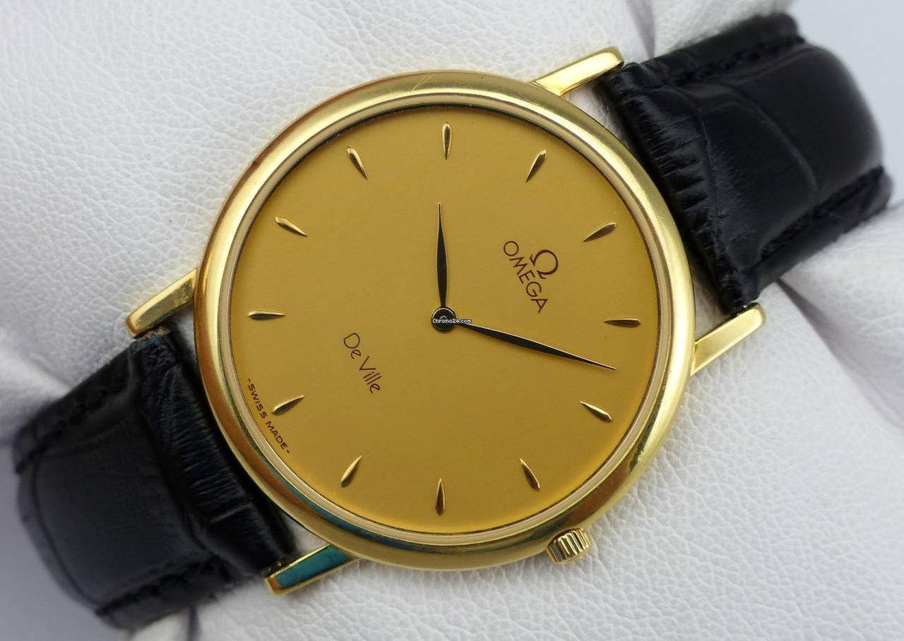 Omega Herrenuhr Gold 750