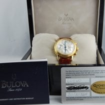 Bulova Chrono, Gold 18, Near Nos, Ref 60C00