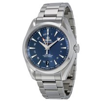 Omega Aqua Terra Blue Dial Stainless Steel Mens Watch 231.10.4...