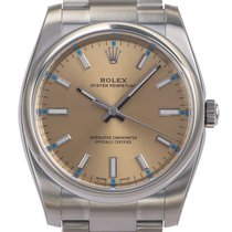 Rolex Oyster Perpetual Stahl Automatik Armband Oyster 34mm...