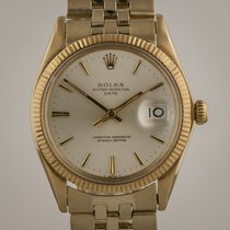 Rolex Oyster Date, Mens, 14k Yellow Gold, 1503, Jubilee,...