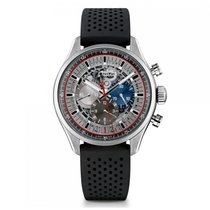 Zenith El Primero 36000 VPH Automatic Stainless Steel Silver...