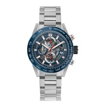 TAG Heuer Carrera Automatic Stainless Steel Blue Dial Mens...