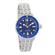 Tissot Seastar 1000 Powermatic Mens Blue Dial Watch T066.407.1...