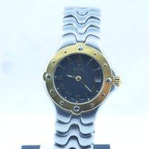 Ebel 1911 Damen Uhr Stahl/750 Gold 30mm Sportwave Top Zustand...