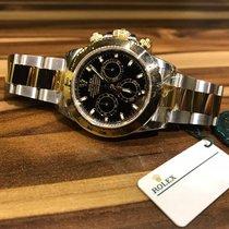Rolex Daytona Steel Gold Black Dial [New]