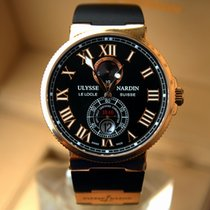 Ulysse Nardin Marine Chronometer Automatic 18K Solid Rose Gold