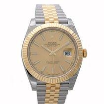Rolex Datejust , Ref. 126333 - champagner Index ZB/Jubileeband