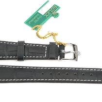 Rolex Leather Strap Lederarmband 20 mm + Schließe 16 mm Original