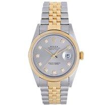 Rolex Datejust Men's 2-Tone Steel & Gold Watch Jubilee...