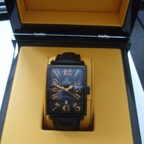 Gevril   AVENUE of AMERICAS   ETA 2892  AUTOMATIC  BLACK