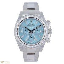 Rolex Cosmograph Daytona Platinum & Diamond Unisex Watch