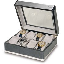 Rapport F3 Carbon Fibre and Aluminium Eight Watch Collector Box