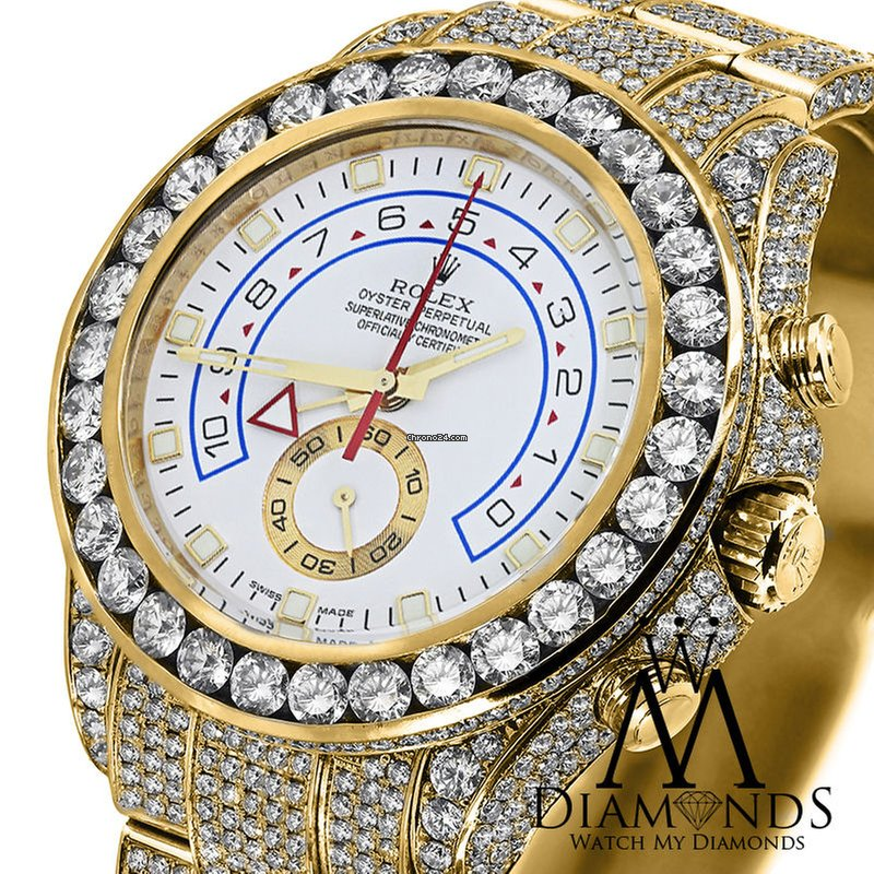 Rolex yachtmaster 2 diamonds
