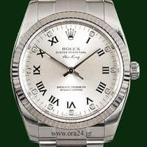 Ρολεξ (Rolex) Air King 114234 White Gold Bezel Diamonds...