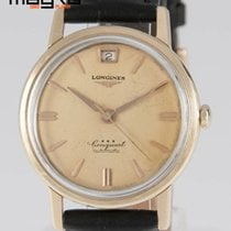 Longines Conquest Automatic 1960 Yellow Gold 18k 35mm Caliber 291