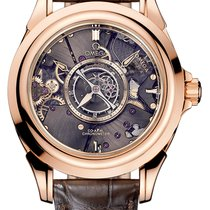 Omega De Ville Tourbillon Co-Axial Special Edition 18K Red...
