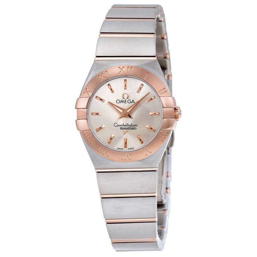 Omega Ladies 12320246002001 Constellation Gold Steel Watch eladó 820 375 Ft  Seller státuszú eladótól a Chrono24-en 8bf3259331