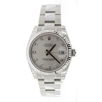 Rolex Datejust 178274 Midsize New Heavy Oyster Band with...