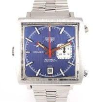 "TAG Heuer Monaco ""Mc Queen"" 1533 Blue dial"