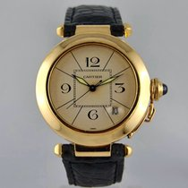 Cartier Pasha 38 mm automatic Yellow Gold